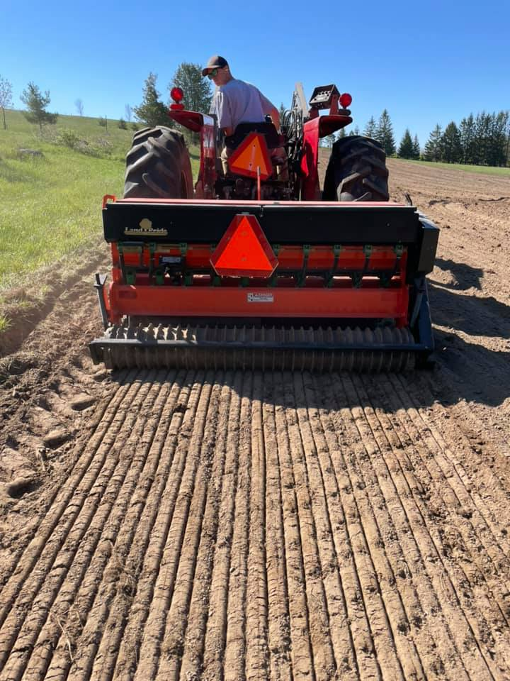 Seed Drill for Meadow and Prarie Install