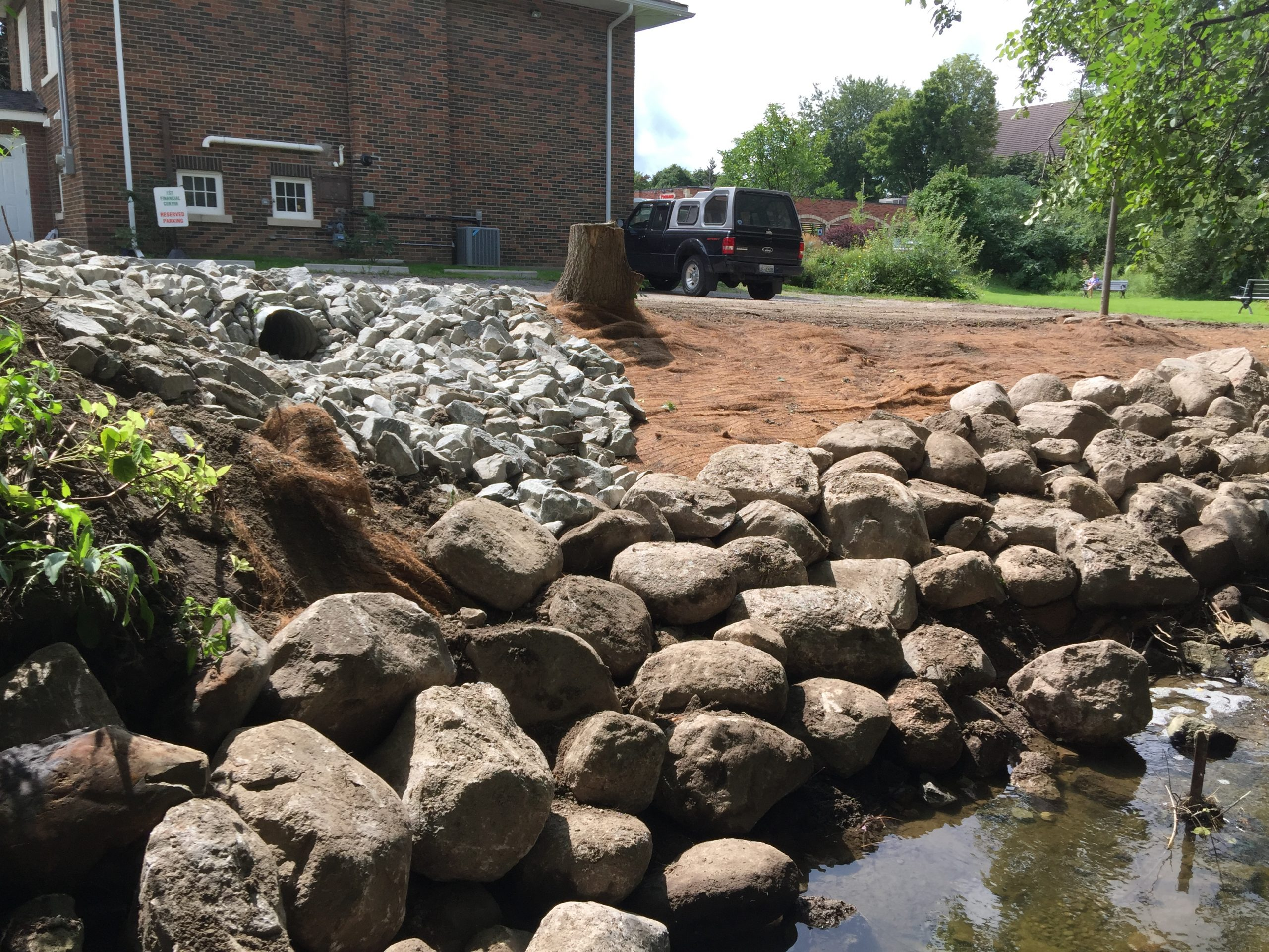 Stream Erosion Control