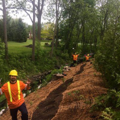 Stream Bank Erosion Control & Planting