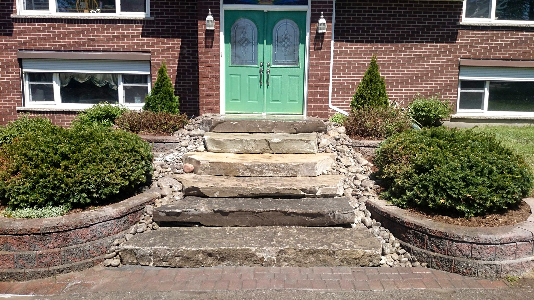 Natural Stone Stairs Residential